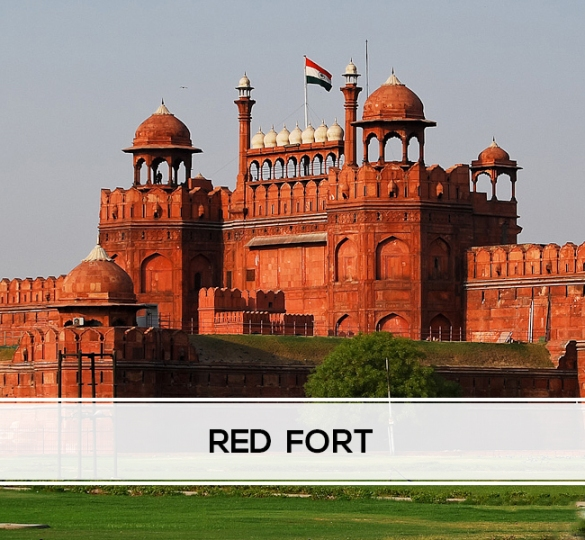 Red  Fort-My-Taxi-India